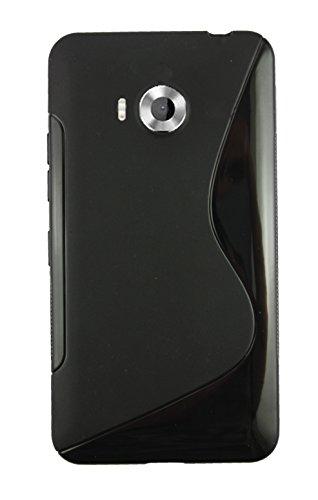 emartbuy Gel-Schutzhülle für Microsoft Lumia 950/950 Dual SIM, ultradünn, Schwarz