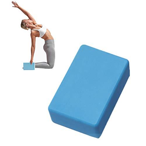 Rysmliuhan Shop Ladrillo De Yoga Yoga Block De Espuma Pilates la Cabeza de Bloques de Yoga Bloque de Yoga de Espuma Soporte para Yoga Pilates Bloques Gray,1pc