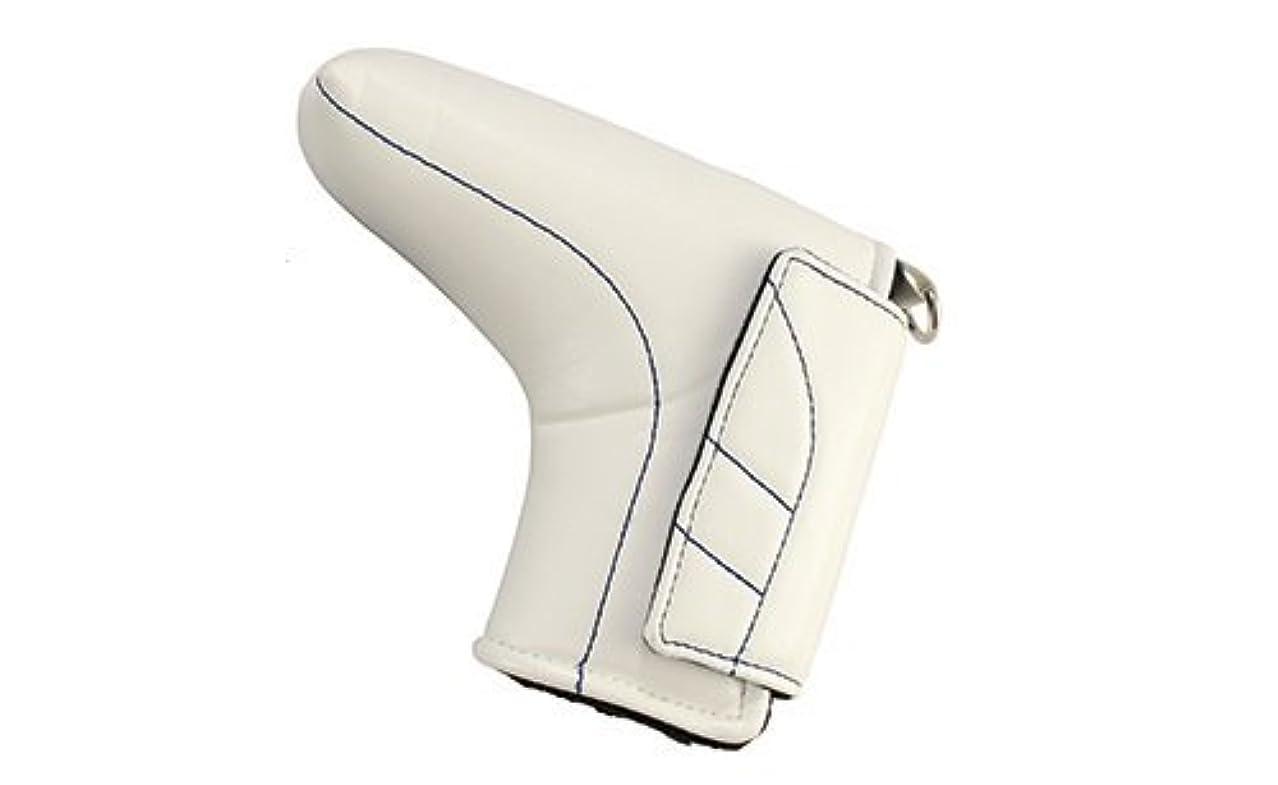 民間人討論肘掛け椅子Geotech(ジオテック) ジオテッククラシックヘッドカバー ジオテック クラシック PC(パターヘッドカバー)ホワイト  6465-0022