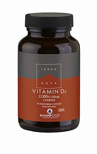 Terranova Vitamin D3 2000iu Complex 100caps
