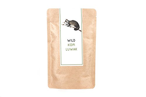 Kopi Luwak Direct Wild Kopi Luwak Coffee, 2.4 oz / 70 Grams