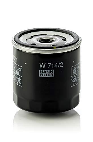 Original MANN-FILTER Filtro de aceite W 714/2 – Para autom