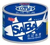 スルッとふた SABA さば水煮缶 6個セット