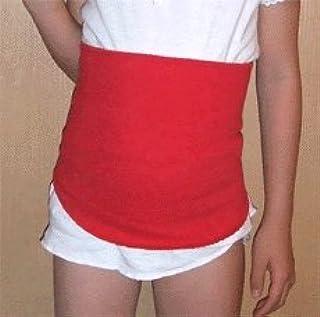 子供用腹巻 EMワッフル腹巻 ウェスト40~55cm 寝冷え対策 (オフ白)