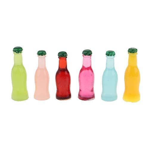Hellery Regalo de Muebles de Casa de Muñecas de Botella de Cóctel en Miniatura a Escala 1/12