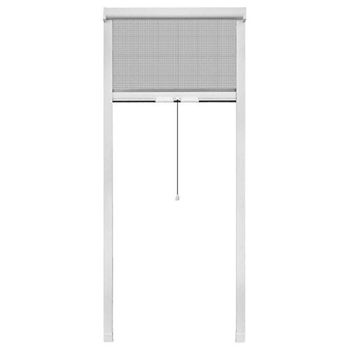 vidaXL Insektenschutz 60x150cm Fenster Rollo Fliegengitter Insektenschutzrollo