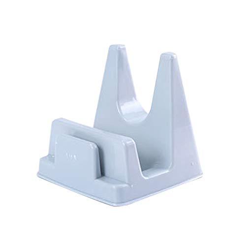 Diseño práctico de la Cocina de la Olla de la Cubierta de la Tapa de la Cáscara del Soporte de Soporte Antideslizante PP de Picado Bloque de Almacenamiento