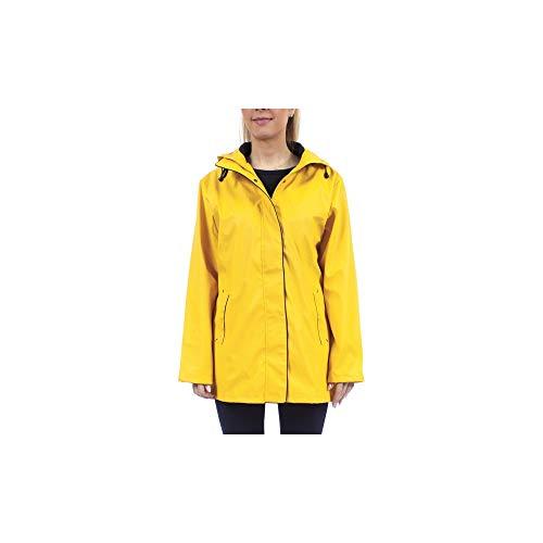 Aiga gelb -Lange Ölzeug-Regenjacke für Damen von Hublot gelb S