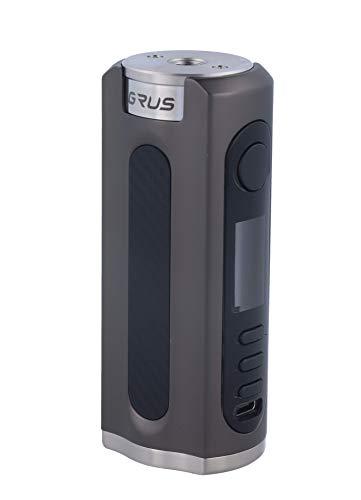 Lost Vape Grus Box Mod 100 Watt, e-Zigarette - Akkuträger, gunmetal carbonfiber