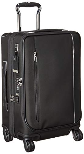 TUMI - Arrivé International Dual Access 4 Wheeled Carry-On Luggage - 22 Inch Rolling Suitcase for Men and Women - Black
