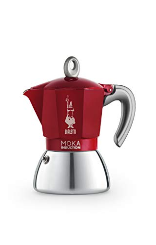 Bialetti New Moka Induction, Cafetera apta para inducción,...