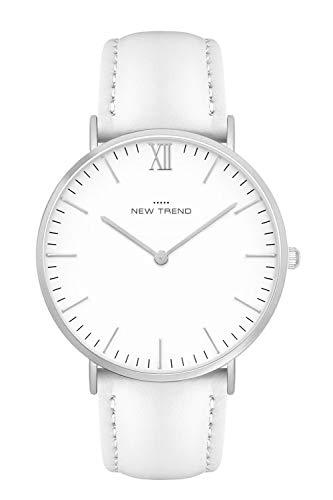 New Trend - Love for Accessories Damen Uhr analog Quarzwerk mit Kunst-Leder-Armband XR-8HRR-QOEZ