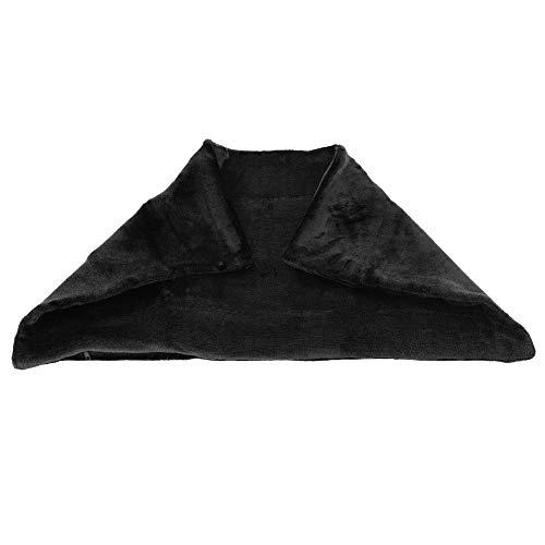 Beheizte Decke, USB-Heizdecken, energiesparender Samt, 5 V, für den Winter warm (schwarz)