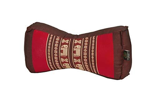 Handelsturm Cojín Chino, diseño Tradicional en Elefantes Rojos con Relleno de kapok