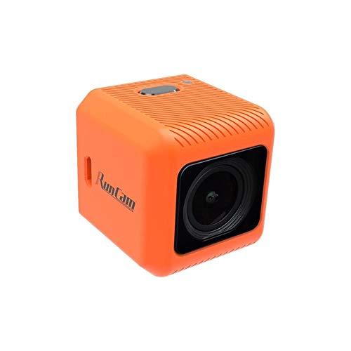 RunCam 5 Orange 12MP 4:3 145°FOV 56g Ultraleichte 4K HD FPV Kamera für RC Drohne, Orange, One size