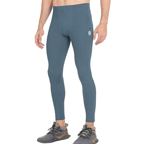 PIQIDIG Men Workout Leggings Cycling Pants - Athletic Sports Running Tights Bottoms