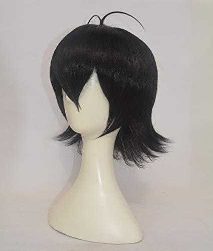Voltron Keith Wig Short Black Heat Resistant Synthetic Hair Wigs + Wig Cap
