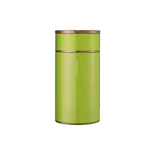 JJZXT Botella de Agua de Acero Inoxidable con Aislamiento  Frasco de Termo de Boca Ancha Aislado al vacío  Caliente por 12 Horas  Tapa de Botella de Metal sin BPA (Color : A)