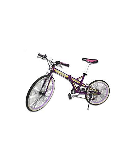 Riscko Wonduu Bicicleta Plegable Bep-26 Liquidación Morada