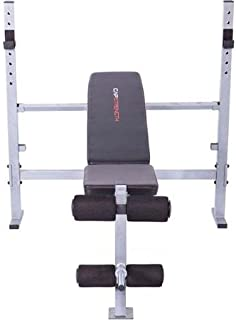 CAP Strength Mid-Width Bench, Max Weight Capacity: 500 lbs