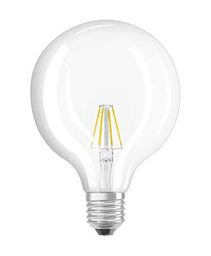 Osram LED Star Classic Globe, in Ballform mit E27-Sockel, Nicht Dimmbar, Ersetzt 60 Watt, Filamentstil Klar, Warmweiß – 2700 Kelvin, 1er-Pack - 7