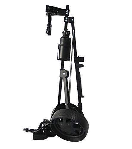 FEFCK 2-Rad Golfwagen Golf Push Cart Leicht, Zieh-Golfcarts Kompakt Und Faltbar Geeignet Für Jugendgolfclubs/Golfplätze/Sportspiele