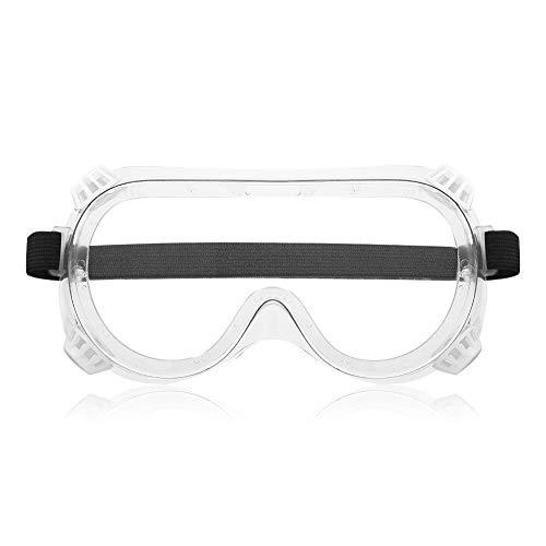 Gafas protectoras de seguridad,PVC blando para un uso cómodo,clasificación de protección UV del 99%,prevención de líquidos,polvo,humos,salpicaduras de productos químicos,protección ocular Equi
