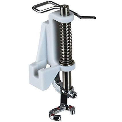 ZIGZAGSTORM 4130376-46 Prensatelas para prensatelas de zurcido, acolchado, sin movimiento, para Viking Husqvarna Group 7, 6, 5, A, B, E, máquina de coser - 4130376-46