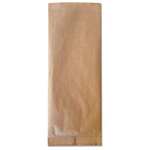 LA PAJARITA 400 Bolsas para cubiertos de papel 9x25 cm | KANGAROO STRETTO Sobres para cubiertos ecológico con Servilleta reciclada 33x40 cm en el interior