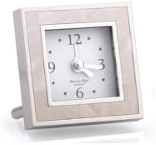 Addison Ross MOP & Silver Alarm Clock