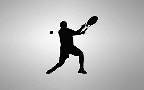CECILIAPATER Calcomanía de Pared Dormitorio, Ping Pong, Deporte, Pelota, Jugador de Raqueta, niños, Adolescentes, habitación 004d