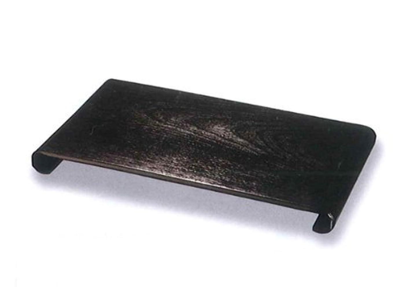 干渉する音楽家ファイター36cm花台 黒ケヤキ杢調玄関の下駄箱の上や床の間?床脇にもぴったり