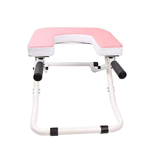 For Sale! L.J.JZDY Yoga Chair Yoga Headstand Bench, Yoga Aids Workout Chair Headstand Stool Multifun...