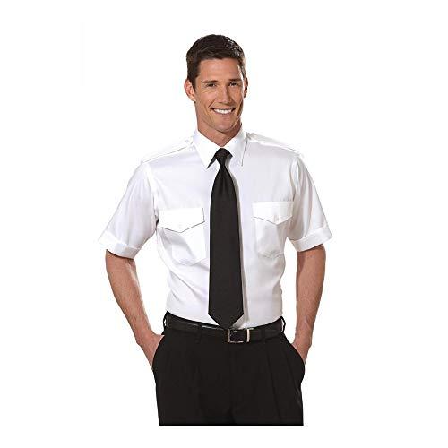 Tall Van Heusen Men's Aviator Shirt - Short Sleeve 15.5...