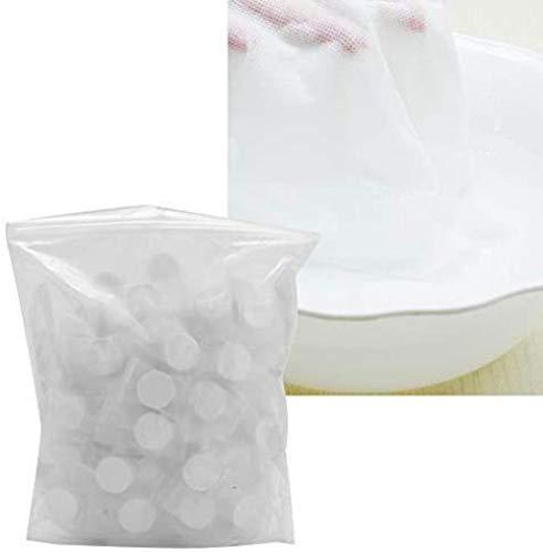 Mini Toalla comprimida de 100 Piezas - Toallitas portátiles para Acampar Toalla de algodón de Maquillaje Suave Toalla de Papel desechable de Limpieza Facial para Viajes / hogar