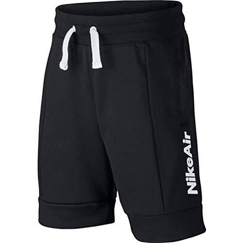 Desconocido Jungen B NSW Nike Air Ft Short kurz, Schwarz/Weiß (Black/Black/Black/White), S