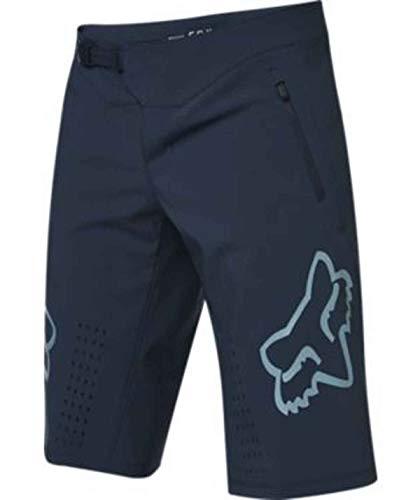 Fox Racing Defend - Pantalones cortos para hombre, color azul marino, 32