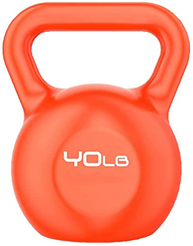 ZJDM Fitness Kettle bells, Female Shaping, thin arms, men's Athletic Kettle bells, home use, gym use, Weight: 5 lbs, 10 lbs, 15 lbs, 20 lbs, 30 lbs, 40 lbs