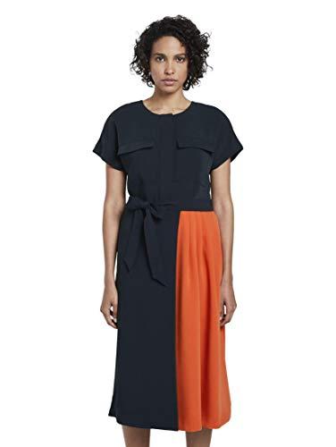 TOM TAILOR mijn tot vijf vrouwen Kontrastfarben Business Casual jurk