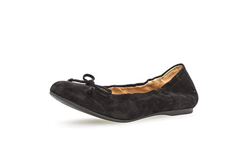 Gabor Fashion 64.120.17 - Bailarina deportiva, color negro, color Negro, talla 44.5 EU