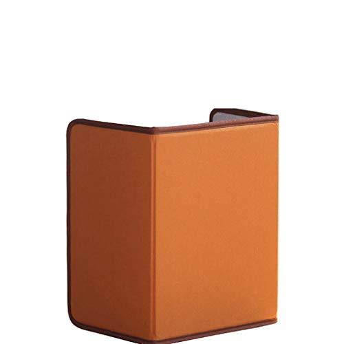 Zyj stores Calentador de pie Caliente, Mesa de Seguridad Plegable portátil Debajo del Calentador de hogar con Tabla de calefacción (Color : Brown)