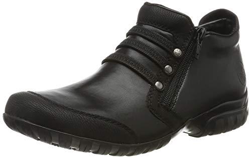 Rieker Damen L4678 Stiefeletten, Schwarz (schwarz/schwarz 00), 40 EU