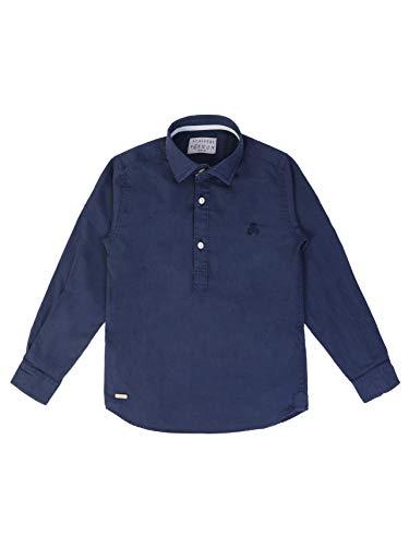 Scalpers POLERA PPT Kids Shirt - Camisa para niño, Talla 4, Color Azul Marino