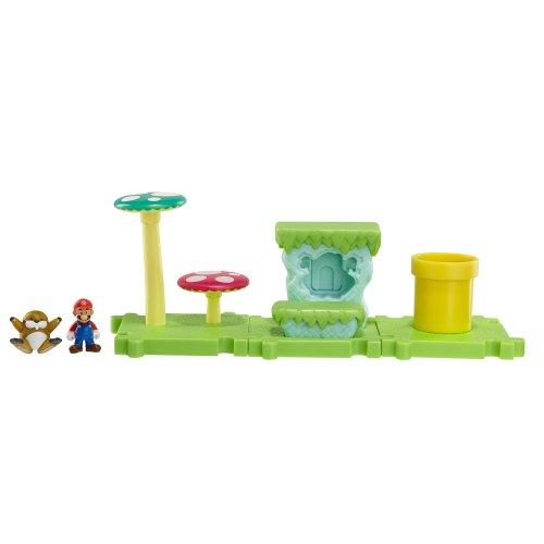 Nintendo - Figura Acorn Plains Con Mario