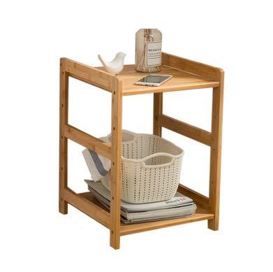 Table d'appoint Meuble latéral Amovible pour Le Salon Table d'appoint Simple et Moderne Matériau écologique (Couleur : A, Taille : 55cm)
