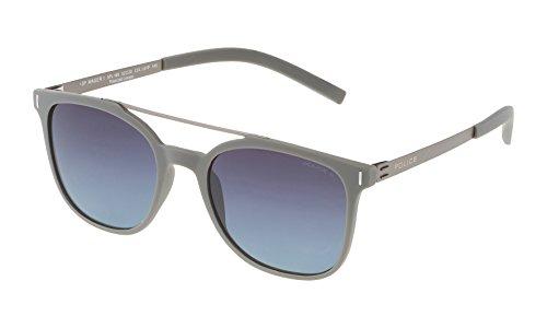 Police SPL169N52L61P Gafas de sol, Gris, 52 para Hombre