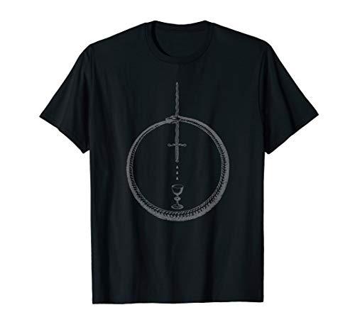 OUROBOROS - Alchemy Symbol Black - Occult Sacred Geometry T-Shirt