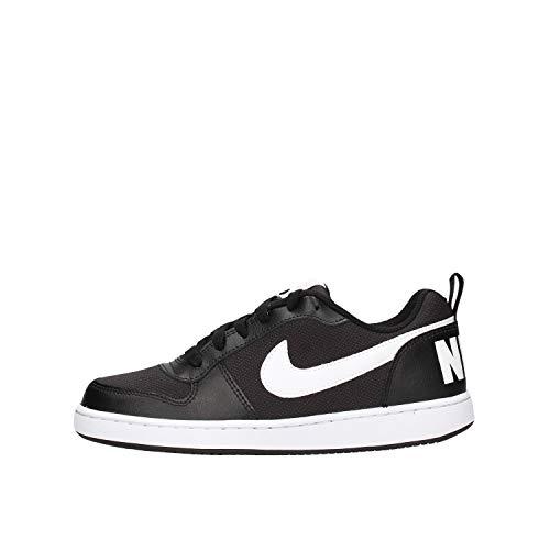 Nike Herren Court Borough Low Pe Basketballschuhe, Schwarz (Black/White 2), 39 EU