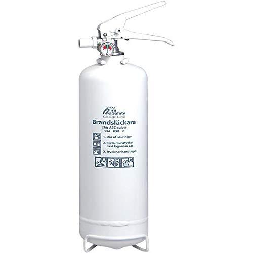 Nexa brandsläckare, 2 Kg ABC-pulver (Vit)