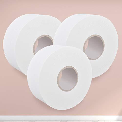 QHKS 650 g grote rollen FCL Web 12 volume toiletpapier papieren handdoeken, standaard toilet, kleine kern, grote hotels